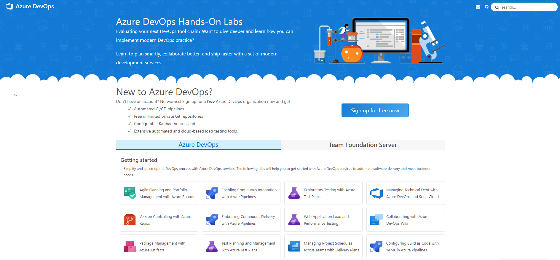 Azure DevOps Hands-On Labs | Azure DevOps Hands-on-Labs
