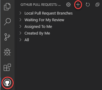 Working with Pull Requests in Visual Studio Code and GitHub