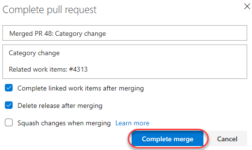 Working with Pull Requests in Visual Studio Code and Azure DevOps
