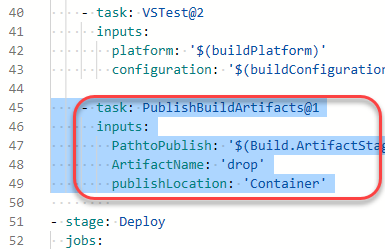 Configuring CI/CD Pipelines as Code with YAML in Azure