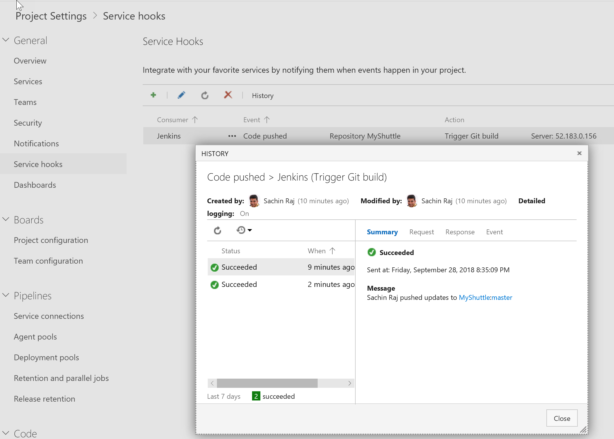 Configuring a CD pipeline for your Jenkins CI | Azure DevOps Hands
