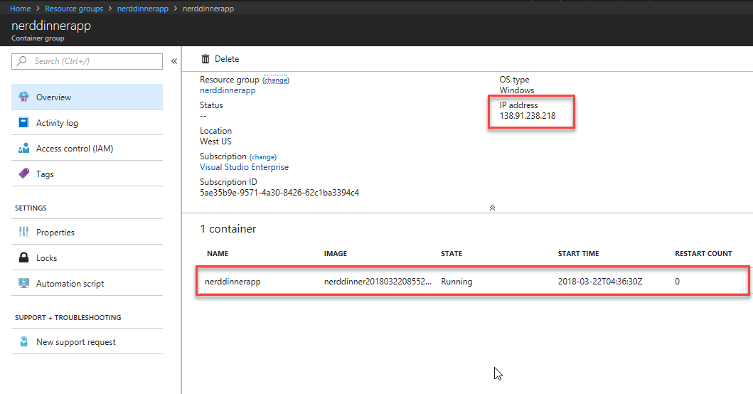 Deploy existing  NET apps as Windows containers (Modernizing