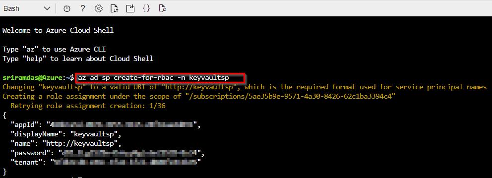 Using secrets from Azure Key Vault in a pipeline | Azure