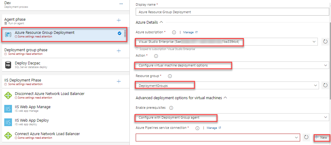 Deploying to Azure VM using Deployment Groups | Azure DevOps