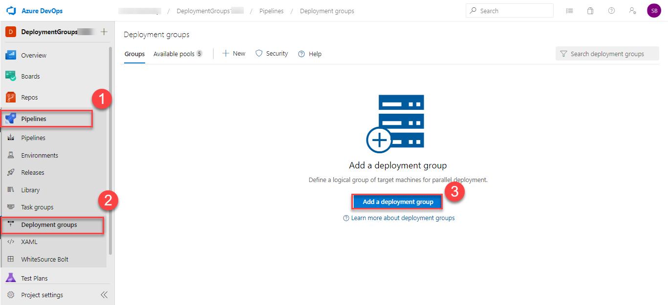Deploying to Azure VM using Deployment Groups | Azure DevOps Hands