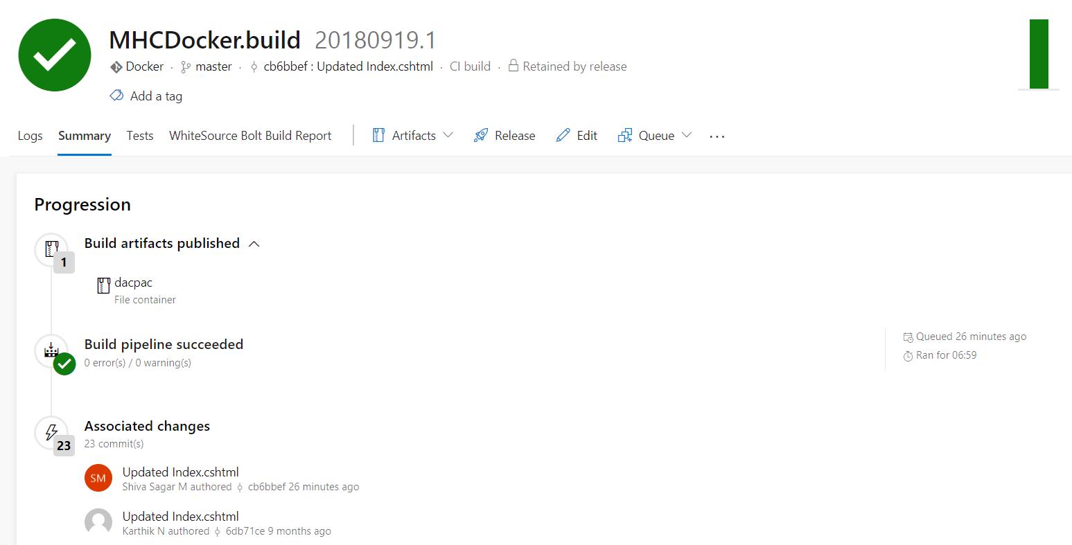 Deploying a Docker based web application to Azure App