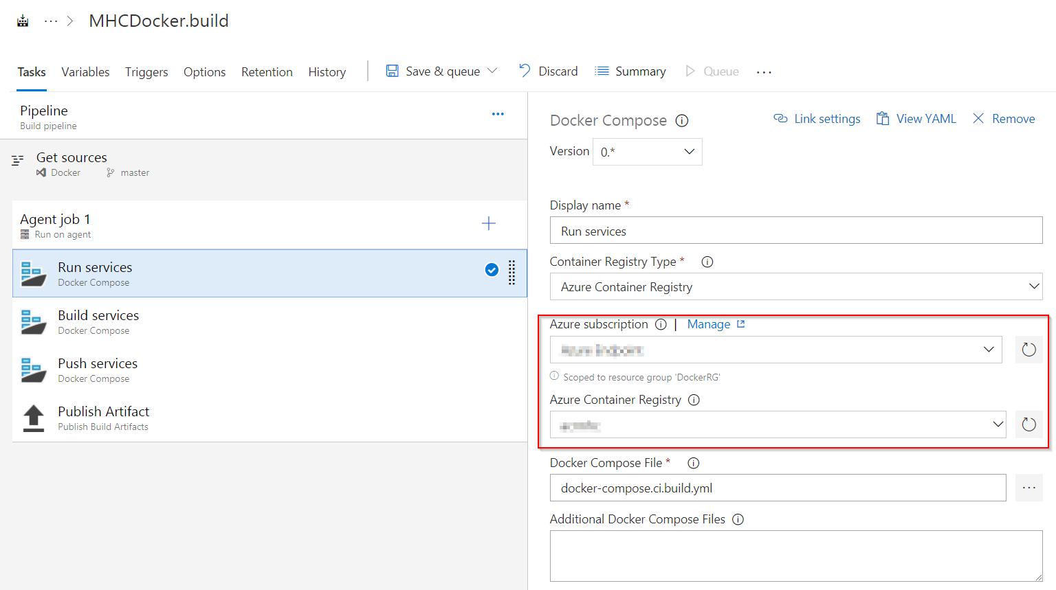 Deploying a Docker based web application to Azure App Service