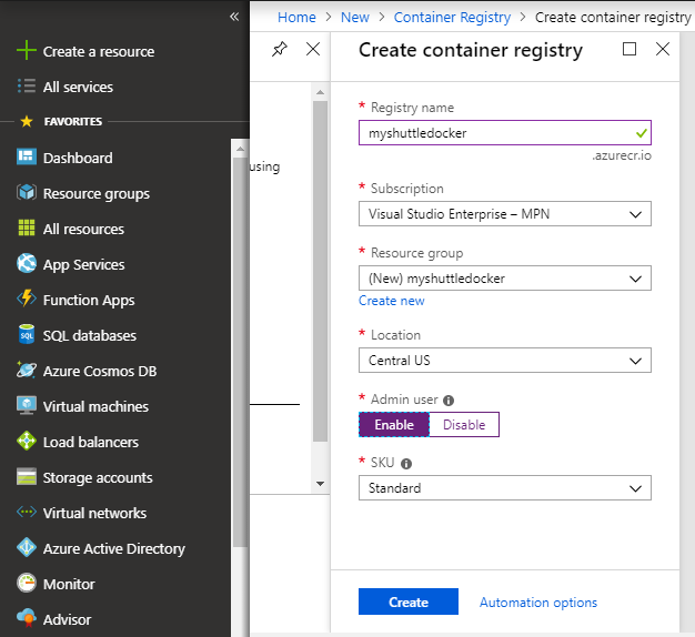 Deploying a Dockerized Java app to Azure Web App for