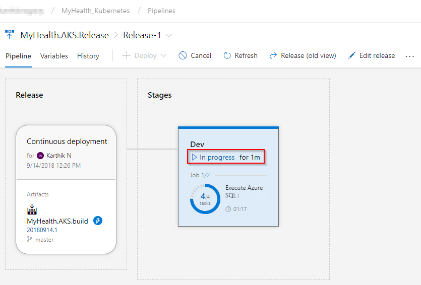 Deploying a multi-container application to Azure Kubernetes