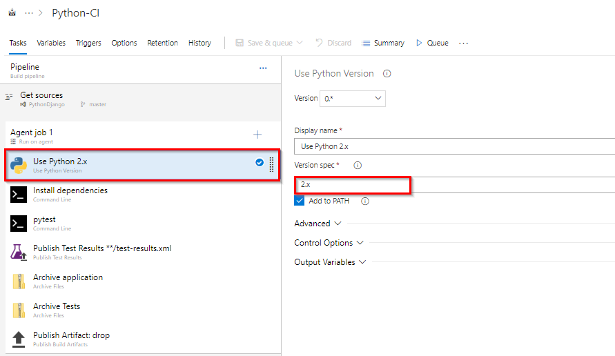Deploying a CD pipeline for a Django-based Python app | Azure DevOps