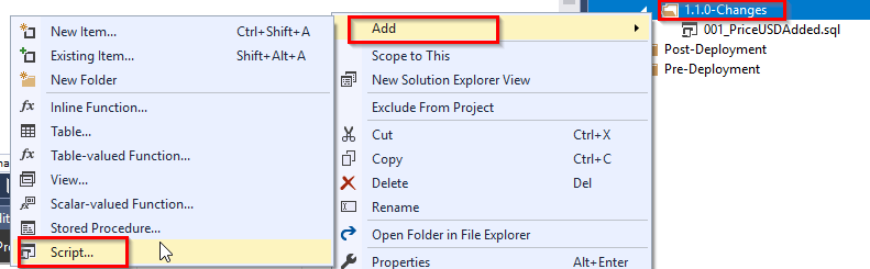 Deploying Database changes with Redgate SQL Change