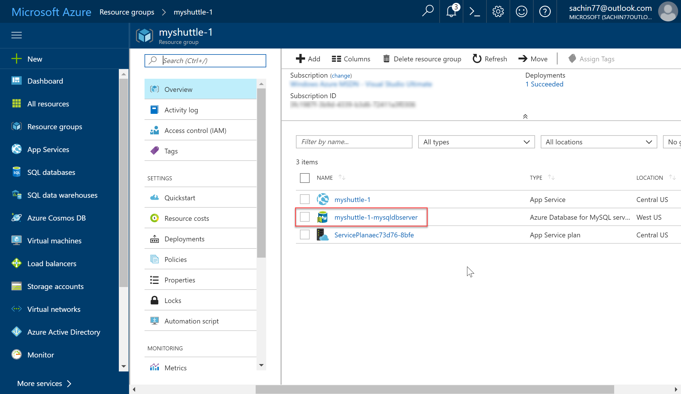 Deploying a Java-based Tomcat application to Azure | Azure